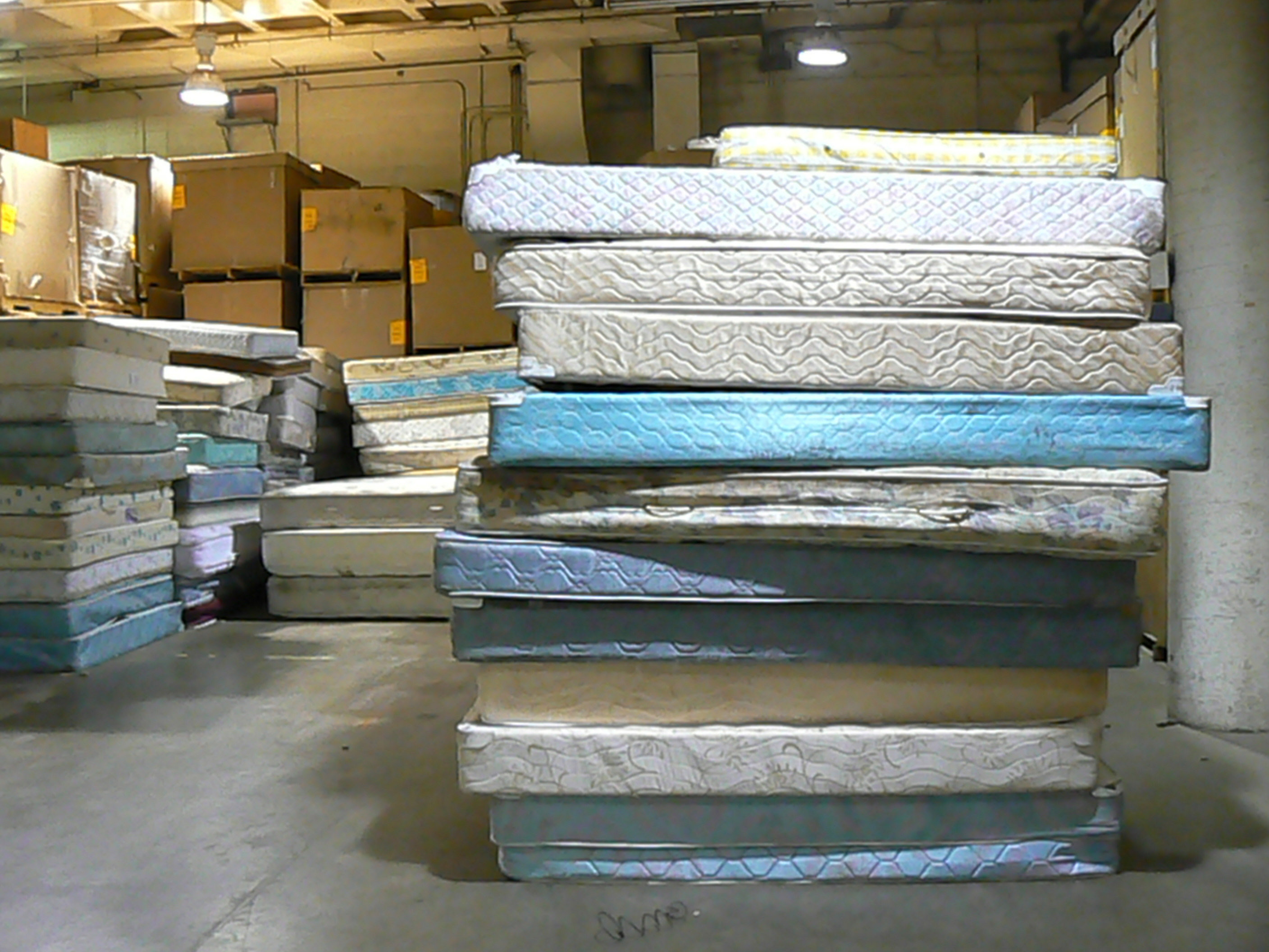Mattress Recycling Down To The Springs